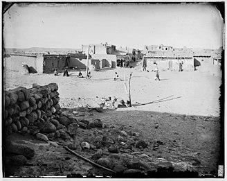 Zia Pueblo, New Mexico - Zia Pueblo in the late 1800s.
