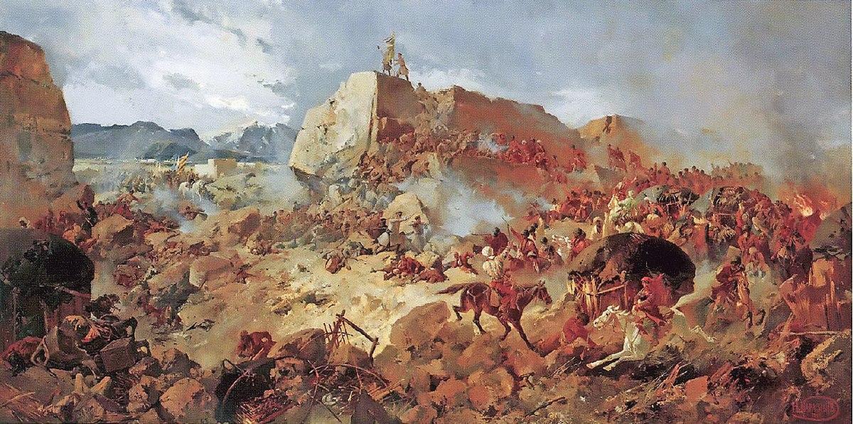 نبرد گوگ تپه ۱۲ ژانویه ۱۸۸۱(۲۳ دی ماه ۱۲۵۹)