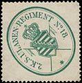 Siegelmarke 2. K. Sächs. Ulanen-Regiment No. 18 W0329096.jpg