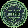 Siegelmarke Gemeinde-Amt in Gleinstätten W0343773.jpg
