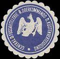 Siegelmarke General der Fussartillerie beim Oberkommando der Küstenverteidigung W0357336.jpg
