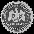 Siegelmarke K.Pr. Inspection der Militär-Strafanstalten W0386662.jpg