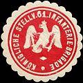 Siegelmarke K. stellv. 61. Infanterie-Brigade W0285465.jpg