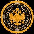Siegelmarke K.u.K. 10.Corps-Commando in Przemysl W0317158.jpg
