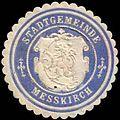 Siegelmarke Stadtgemeinde Messkirch W0307404.jpg