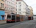 Siemens ULF B1 753, tram line 18 in Vienna, 2018.jpg