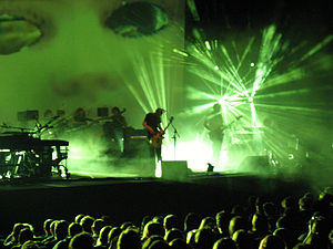 Sigur Rós performing in Barcelona, November 22...