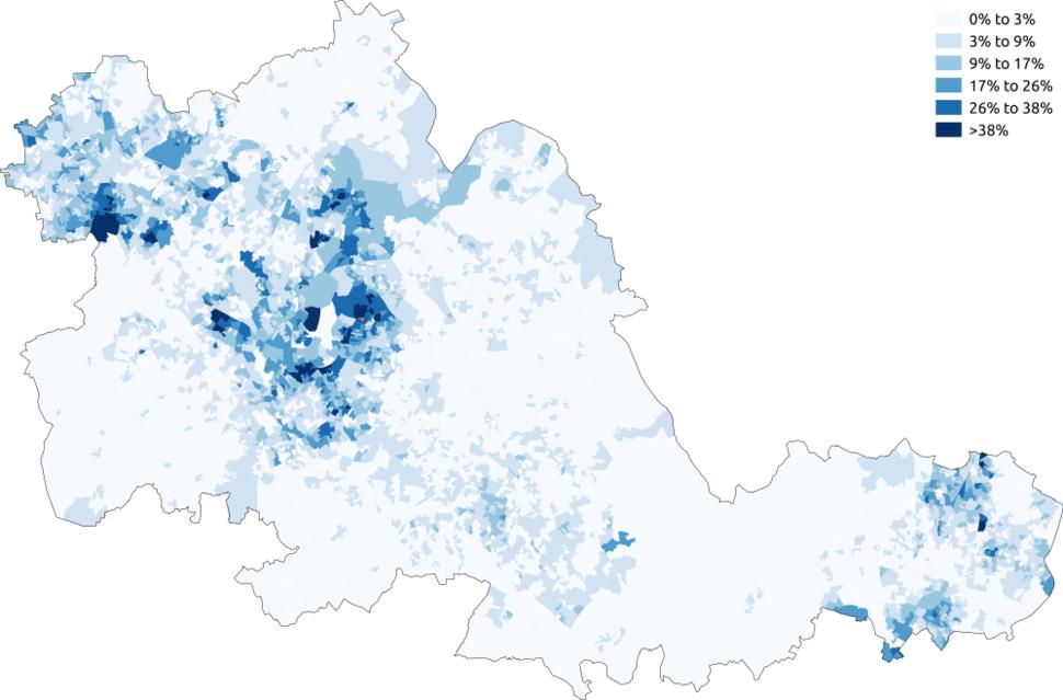 Sikhism West Midlands 2011 census