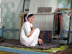 узбекский ковёр фото