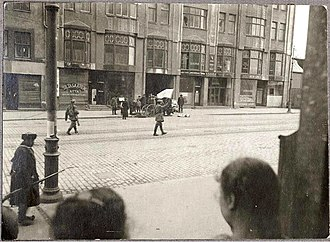 Battle of Helsinki - A Red fighter waving a white flag