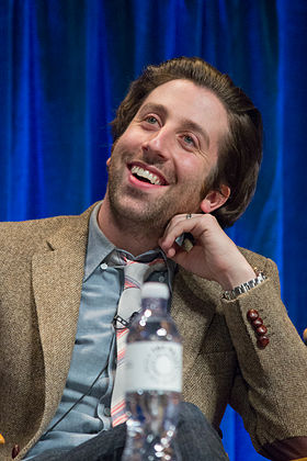 Simon Helberg at PaleyFest 2013.jpg