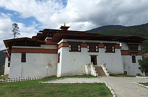 Second Battle of Simtokha Dzong - The reconstructed Simtokha Dzong.