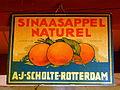 Sinaasappel Naturel limonade Siroop, AJ Scholte, Rotterdam.JPG