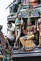 Singapore. Sri Mariamman. Gopuram. South West-11.JPG