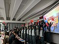 Singing Red Song competition in Dalian University.jpg