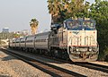 Single-level Pacific Surfliner in Burbank, June 2010.jpg
