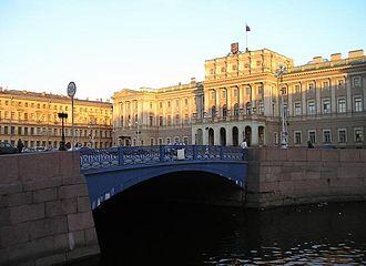 Moyka River - Image: Siny Bridge Moyka