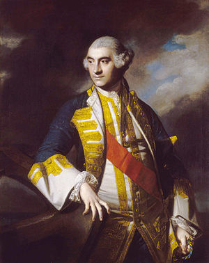 Charles Saunders (Royal Navy officer) - Sir Charles Saunders by Sir Joshua Reynolds