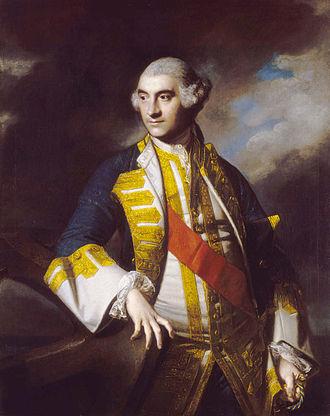 Charles Saunders (Royal Navy officer) - Sir Charles Saunders by Sir Joshua Reynolds