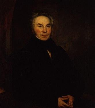 George Nicholls (commissioner) - George Nicholls, by Ramsay Richard Reinagle