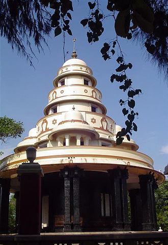 Narayana Guru - Narayana Guru's Tomb at Sivagiri