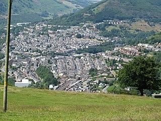 Six Bells Human settlement in Wales