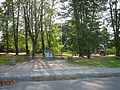 Skwer z kamieniem węgielnym osiedla Nasz Dom (Za Torem) w Tarnowie-Mościcach, ul. Obronców Lwowa (-) 2 pavw.JPG