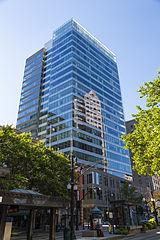 Goldman Sachs office tower in Salt lake City