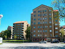 Punkthus på Slotshøjden i Helsingborg