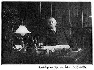 Edgar Fahs Smith American chemist