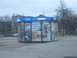 Snoras - Snoras kiosk in Jonava.