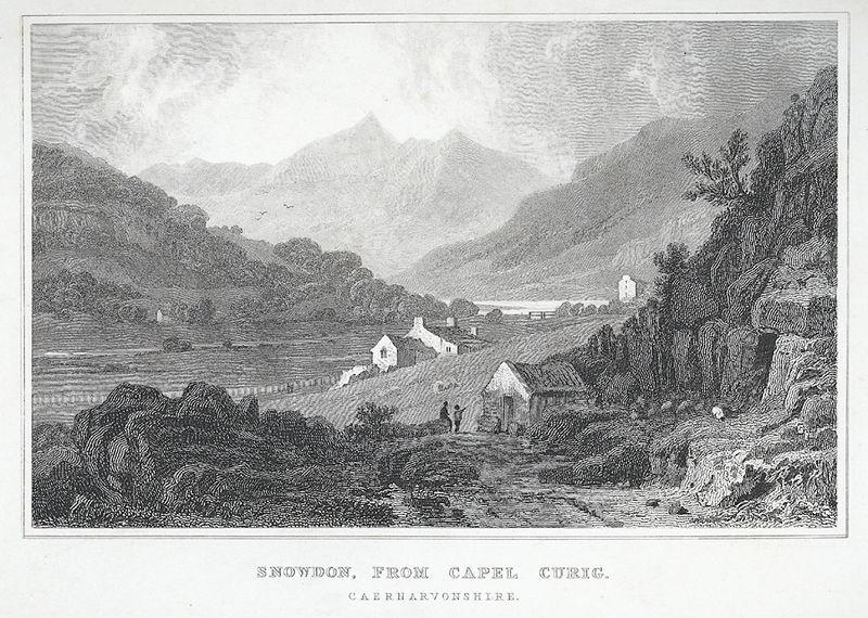 File:Snowdon, From Capel Curig Caernarvonshire.jpeg