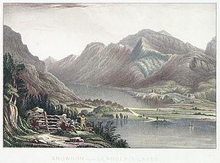 Snowdon from Llanberis lakes