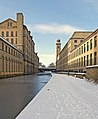 Snowy towpath, Saltaire, (Taken by Flickr user 26th January 2013).jpg