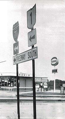 Ohio State Route 1 1961 1965 Wikipedia