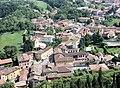 Solferino, view from Rocca di Solferino to the city.jpg