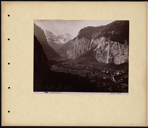 Sommer, Giorgio (1834-1914) - n. 12816 - Lauterbrunnenthal - Boston