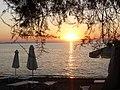 Sonnenuntergang am Paradissos-Strand.jpg