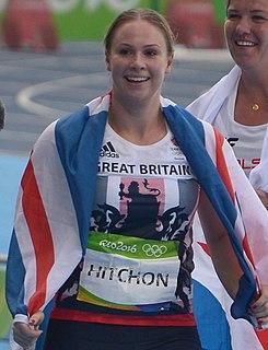 Sophie Hitchon British hammer thrower