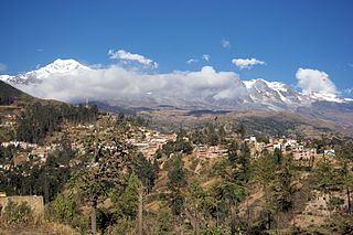 Sorata Place in La Paz Department, Bolivia
