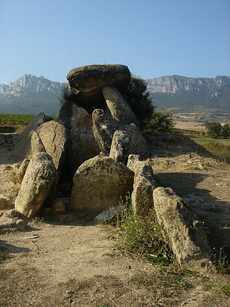 Basque Country (greater region) - Dolmen in Bilar (Álava)
