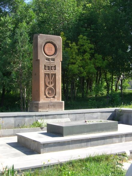 The tomb of Sose Mayrig in Armenia