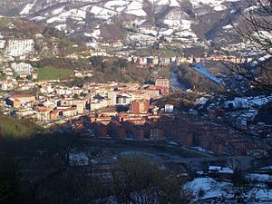 Sotrondio - Aerial view of the town
