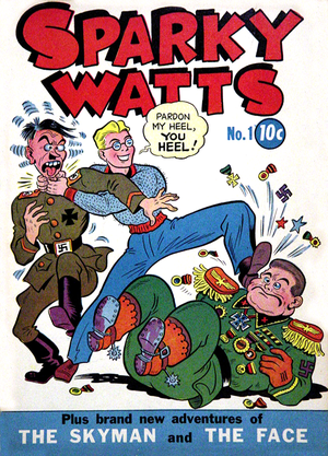 Boody Rogers - The first issue of Sparky Watts.