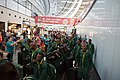 Special Olympics World Winter Games 2017 arrivals Vienna - South Africa 02.jpg