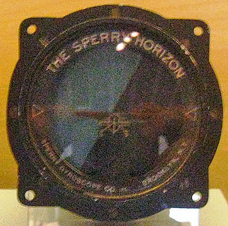 Sperry Corporation - The Sperry Horizon, Sperry Gyroscope Co. Brooklyn N.Y.