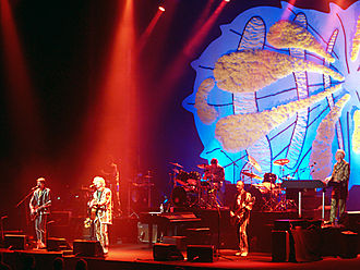 Music of New Zealand - Split Enz performing in June 2006
