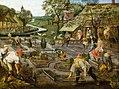 Spring, Peter Breughel the Younger, 1633 (before restoration).jpg