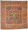 Square Ottoman-design carpet. Probably Cairo, Egypt. First half of the 17th century.jpg