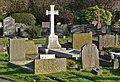 St. Mary Magdalene Churchyard, Knighton - geograph.org.uk - 1185170.jpg